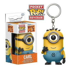 Despicable Me 3 Pocket Pop! Keychain Carl