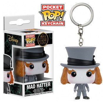 Disney Pocket Pop! Keychain Mad Hatter (Alice Through the Looking Glass)