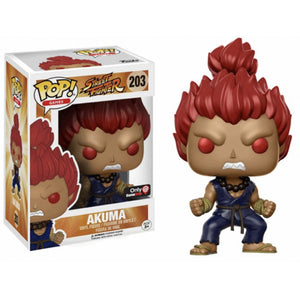Street Fighter Pop! Vinyl Figures Akuma [203]