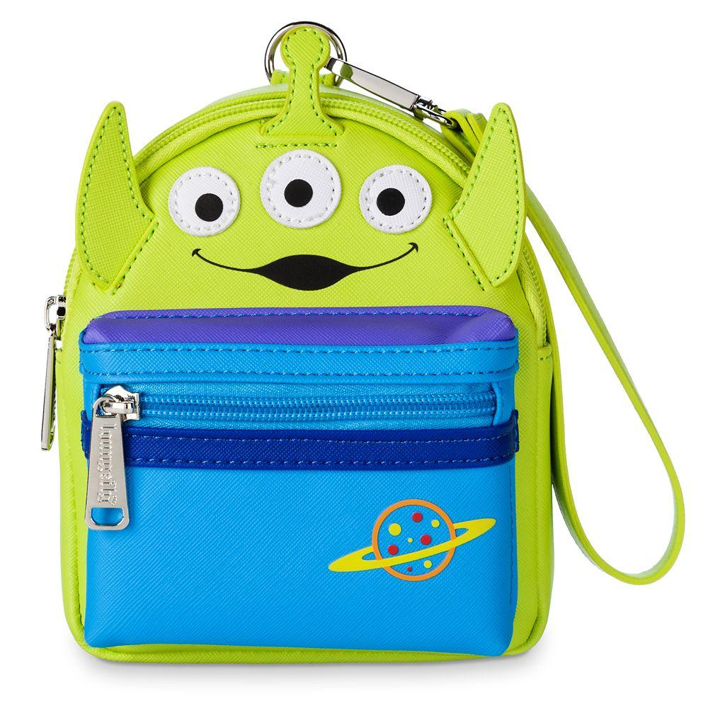 Loungefly x Disney Parks Toy Story Alien Backpack Wristlet