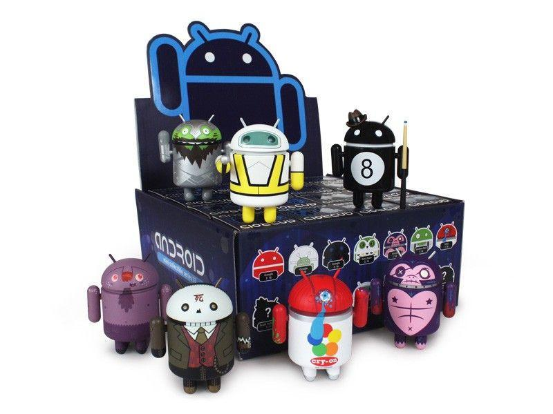 Android Mini Collectible Series 3 (Case of 16) - Fugitive Toys