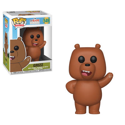 We Bare Bears Pop! Vinyl Figure Grizz [549]