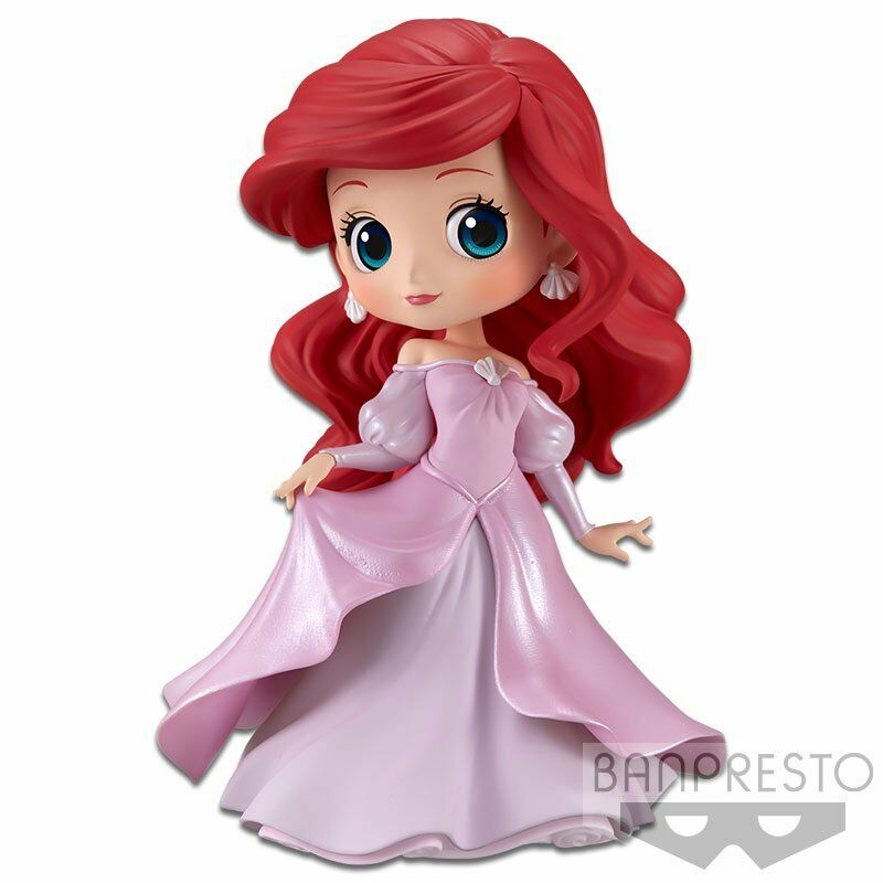Disney Q Posket Ariel Princess Dress [Pink]