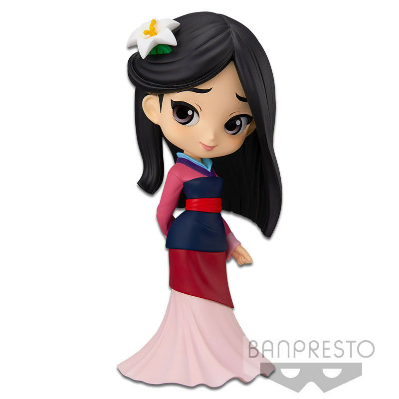 Disney Q Posket Mulan [Red Dress]