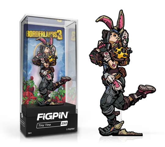 Borderlands 3: FiGPiN Enamel Pin Tiny Tina [250]