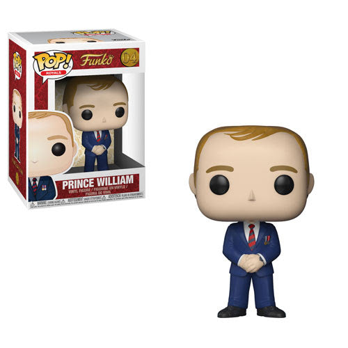 Royals Pop! Vinyl Figure Prince William [04]