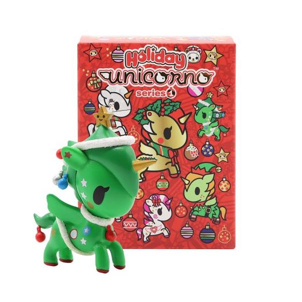 Tokidoki Holiday Unicorno Series 1: (1 Blind Box)