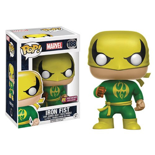 Marvel Pop! Vinyl Figure Iron Fist [Previews Exclusive]