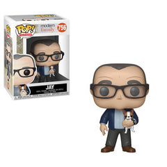 Modern Family Pop! Vinyl Figure Jay with Dog [756]