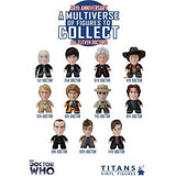 Titans Doctor Who 50th Anniversary All 11 Doctors: (1 Blind Box) - Fugitive Toys