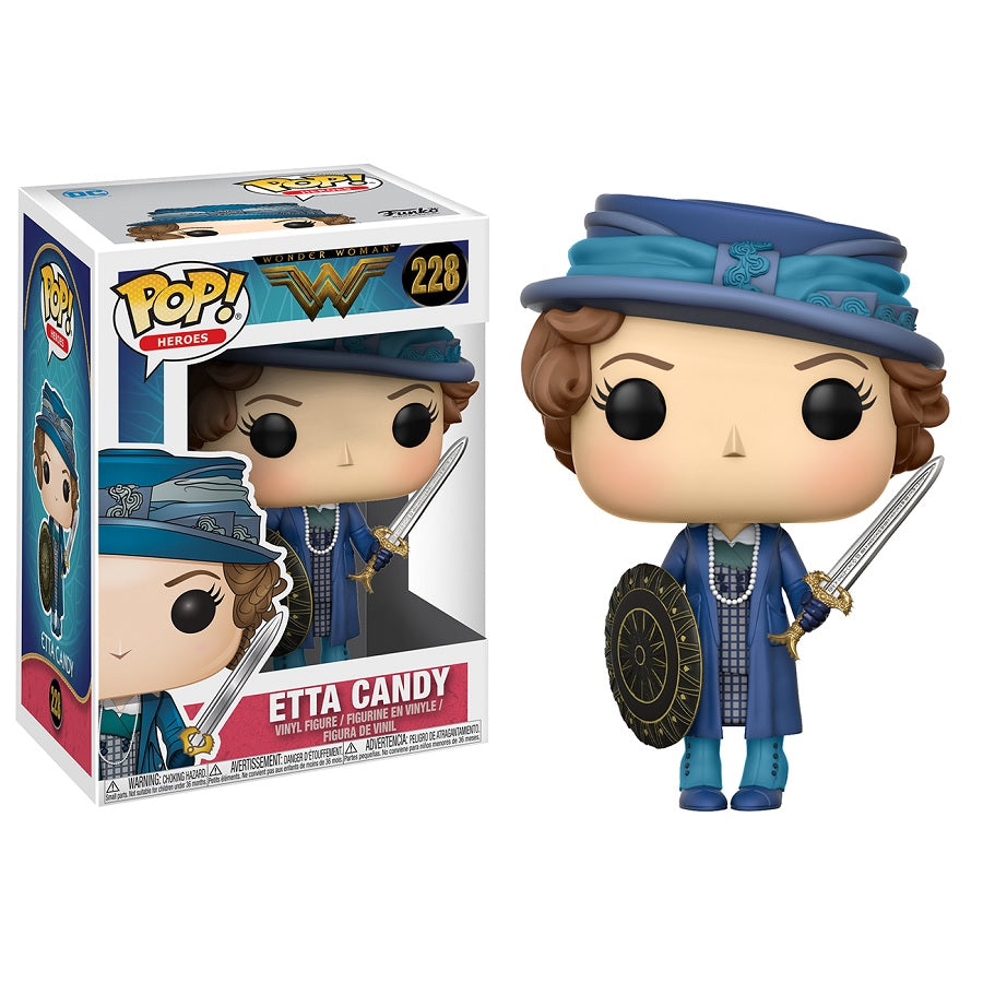Wonder Woman Movie Pop! Vinyl Figure Etta with Sword and Shield [228]