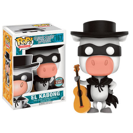 Quick Draw McGraw Pop! Vinyl Figure El Kabong [Specialty Series]