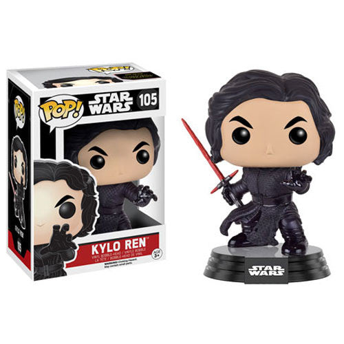 Star Wars Pop! Vinyl Bobblehead Kylo Ren (Battle Damaged) [Episode VII: The Force Awakens]