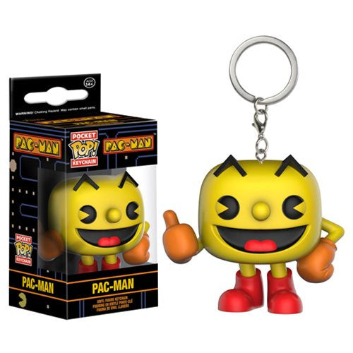 Pac-Man Pocket Pop! Keychain Pac-Man - Fugitive Toys