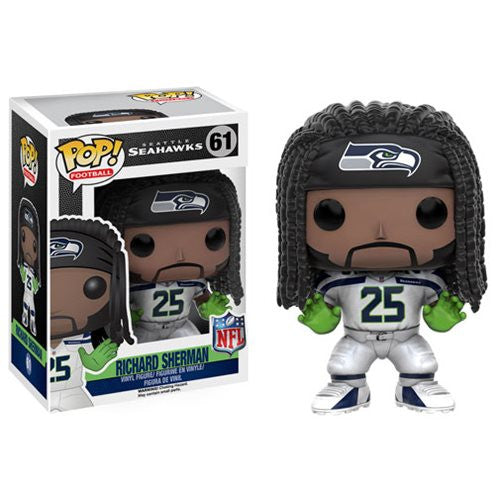 NFL Wave 3 Pop! Vinyl Figure Richard Sherman [Seattle Seahawks]