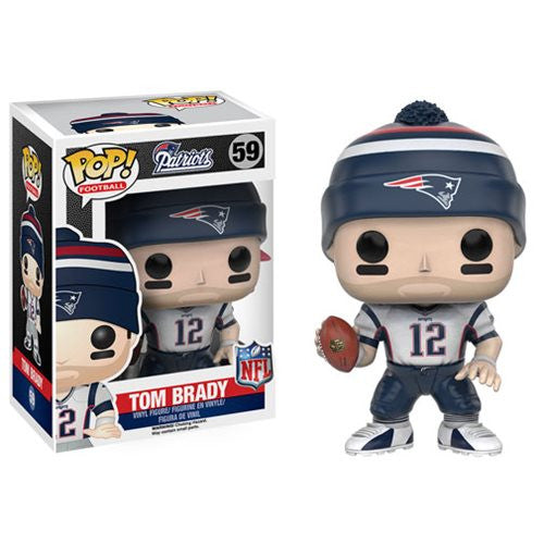 NFL Wave 3 Pop! Vinyl Figure Tom Brady [New England Patriots]