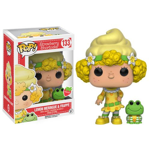 Strawberry Shortcake Pop! Vinyl Figure Lemon Meringue and Frappe