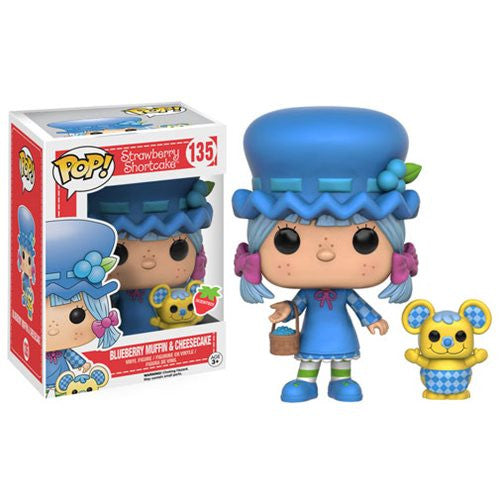 Strawberry Shortcake Pop! Vinyl Figure Blueberry Muffin and Cheesecake