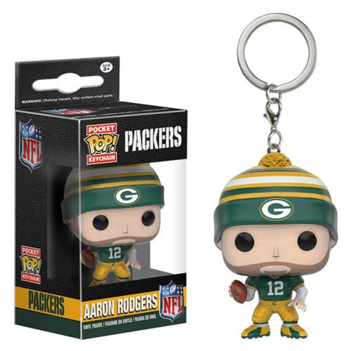 NFL Pocket Pop! Keychain Aaron Rodgers