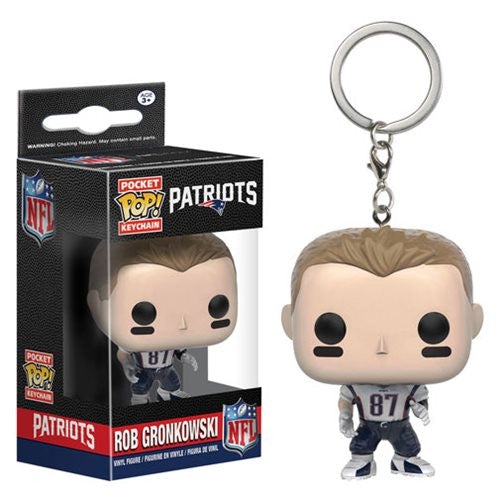 NFL Pocket Pop! Keychain Rob Gronkowski