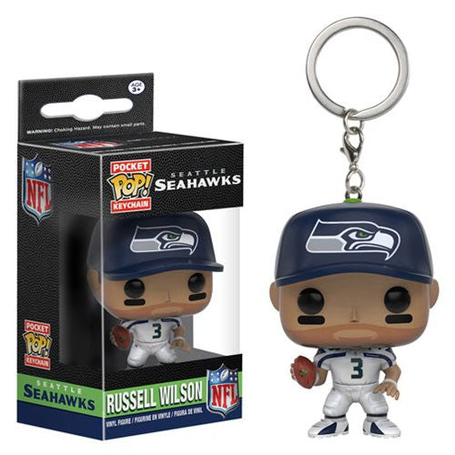 NFL Pocket Pop! Keychain Russell Wilson