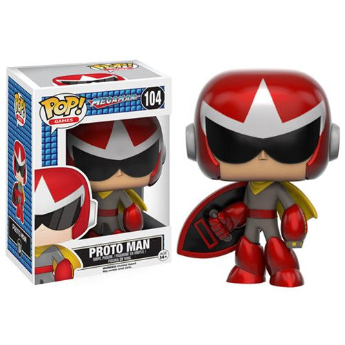 Mega Man Pop! Vinyl Figure Proto man - Fugitive Toys