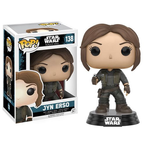 Star Wars Rogue One Pop! Vinyl Bobblehead Jyn Erso - Fugitive Toys