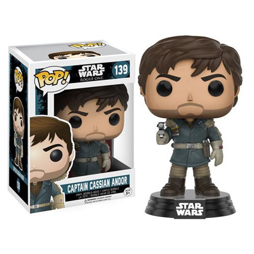 Star Wars Rogue One Pop! Vinyl Bobblehead Captain Cassian Andor