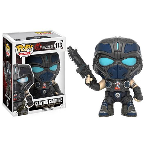 Gears of War Pop! Vinyl Figure Clayton Carmine