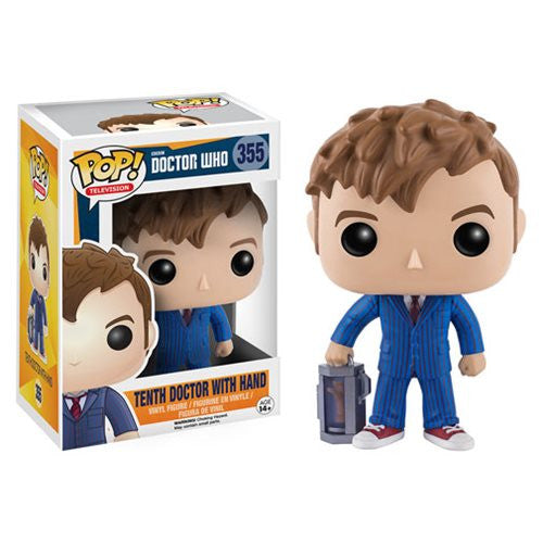 Doctor Who Pop! Vinyl Figure 10th Doctor with Hand