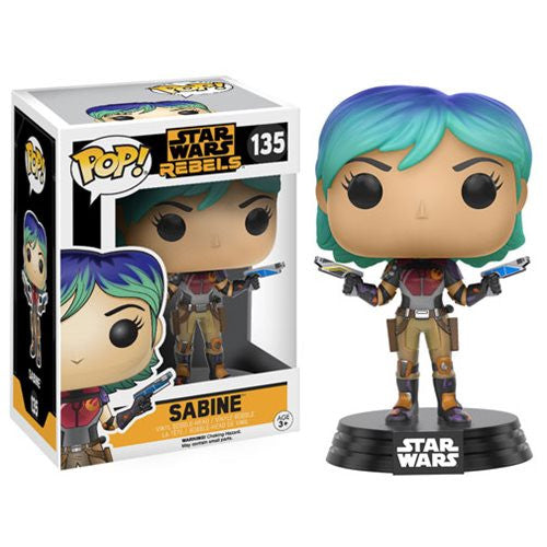 Star Wars Rebels Pop! Vinyl Bobblehead Sabine [135] - Fugitive Toys