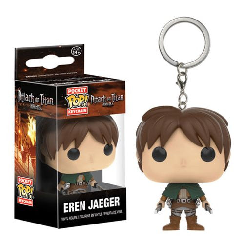 Attack on Titan Pocket Pop! Keychain Eren Jaeger