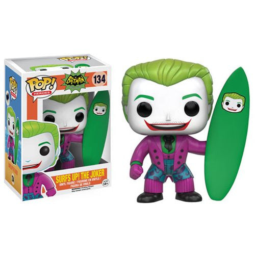 1960's Classic Batman Pop! Vinyl Figure The Joker 1966 Surf's Up