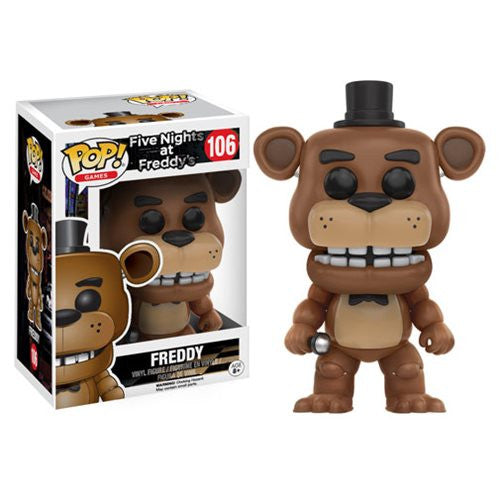 Five Nights at Freddy's Pop! Vinyl Freddy