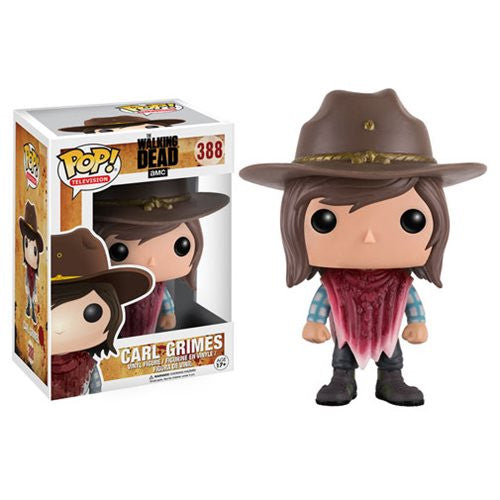 The Walking Dead Pop! Vinyl Carl (Bloody Poncho)