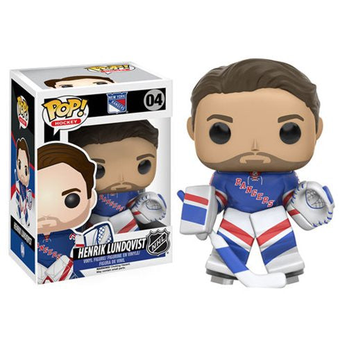 NHL Pop! Vinyl Figure Henrik Lundqvist [New York Rangers]
