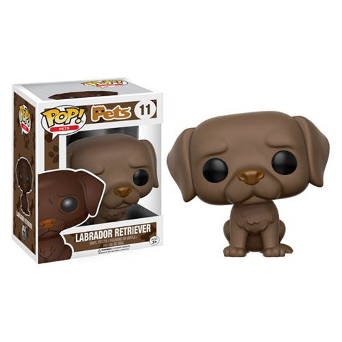 Pets Pop! Vinyl Figure French Labrador Retriever (Chocolate)