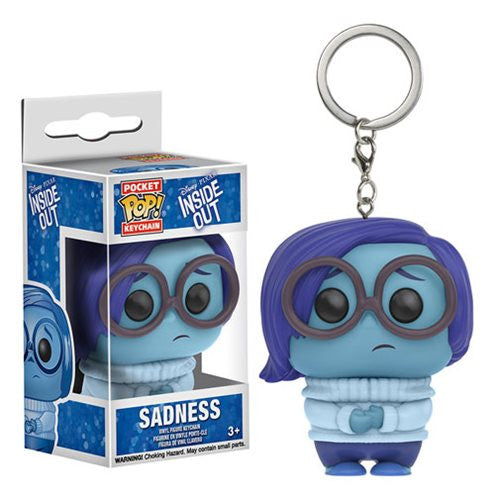 Disney Pocket Pop! Keychain Sadness [Inside Out]