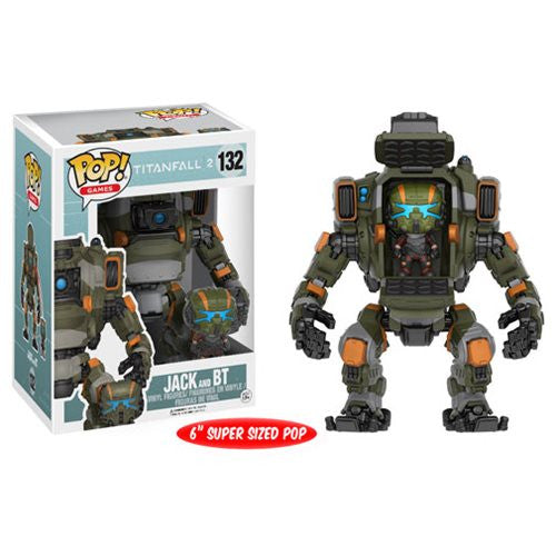 Titanfall 2 Pop! Vinyl Figure Jack and BT Titan Vehicle