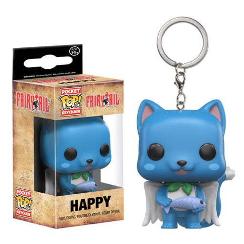 Fairy Tail Pocket Pop! Keychain Happy
