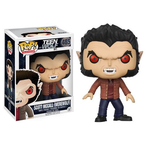 Teen Wolf Pop! Vinyl Figure Scott McCall (Werewolf) - Fugitive Toys