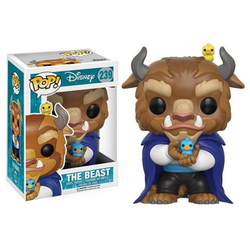 Disney Pop! Vinyl Figure The Beast w/ birds [Beauty & The Beast] - Fugitive Toys