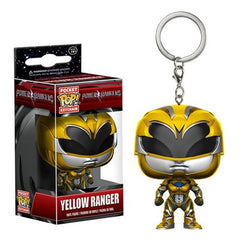 Power Rangers Movie Pocket Pop! Keychain Yellow Ranger