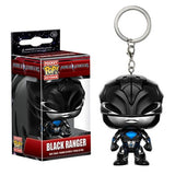 Power Rangers Movie Pocket Pop! Keychain Black Ranger - Fugitive Toys