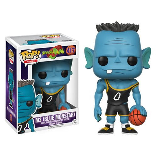 Movies Pop! Vinyl Figure M3 Blue Monstar [Space Jam] - Fugitive Toys