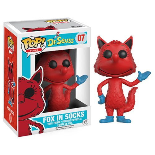 Books Pop! Vinyl Figure Fox in Socks [Dr. Seuss]
