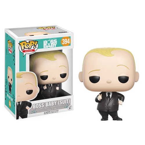 Movies Pop! Vinyl Figure Boss Baby (Suit) [Boss Baby] - Fugitive Toys