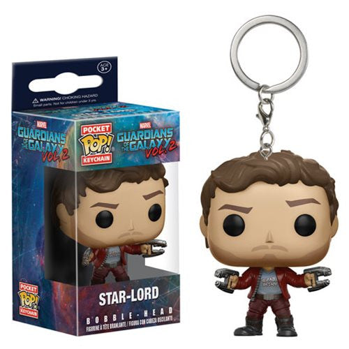 Guardians of Galaxy Vol. 2 Pocket Pop! Keychain Star-Lord