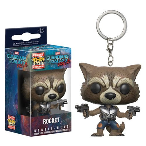 Guardians of Galaxy Vol. 2 Pocket Pop! Keychain Rocket
