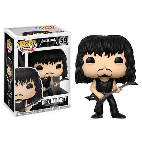 Rocks Pop! Vinyl Figure Kirk Hammett [Metallica] - Fugitive Toys